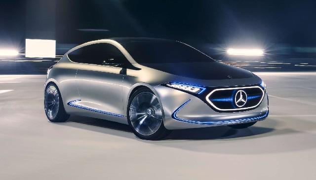 2020 Mercedes EQA concept