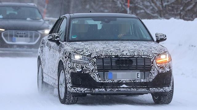 2021 Audi Q2 spied