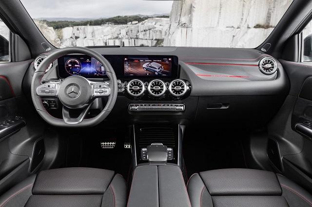 2021 Mercedes GLA250 interior