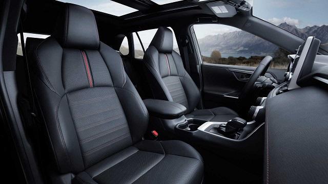 2021 Toyota Rav4 Prime interior