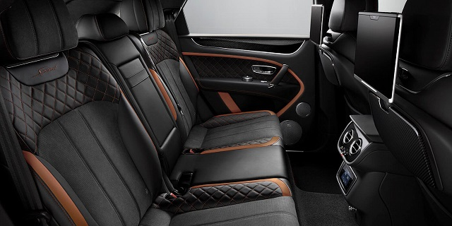 2021 Bentley Bentayga Speed interior