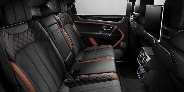2021 Bentley Bentayga Speed interior