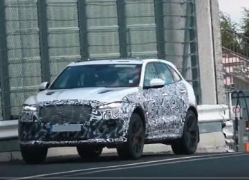 2021 Jaguar F-Pace spied