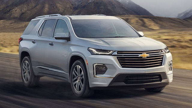2021 Chevy Traverse changes