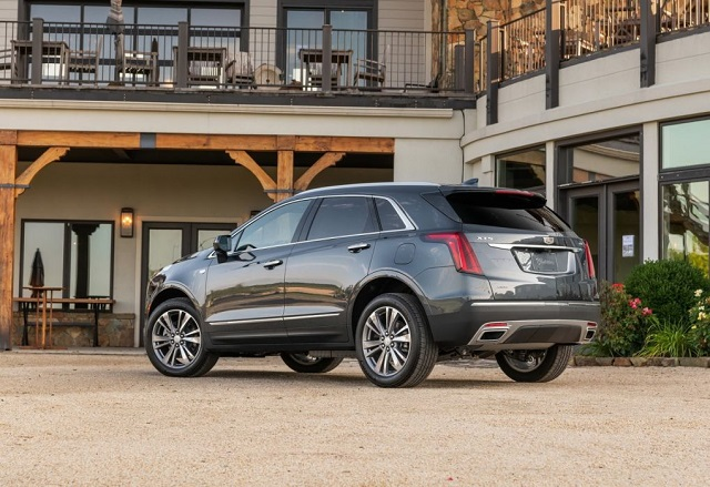 2022 Cadillac xt5 redesign