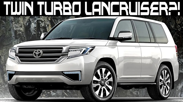 2022 Land Cruiser i force max