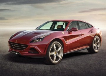 2022 Ferrari Purosangue SUV concept