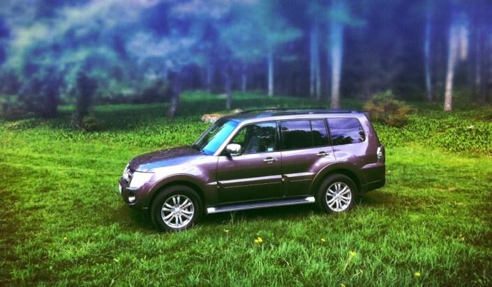 SUVTEST: Mitsubishi Pajero 2012