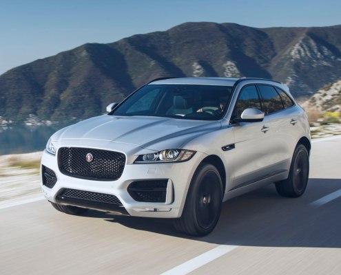 Lär känna Jaguar F-Pace