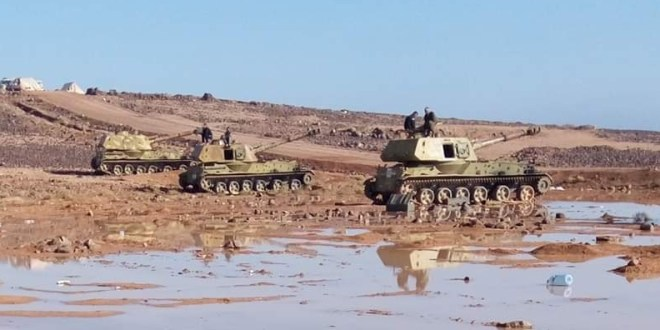 الأمطار تحد من المواجهات بين داعش والجيش شرق السويداء