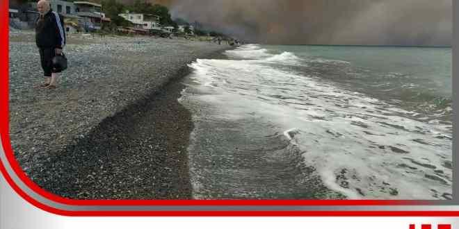 طواقم إطفاء من السويداء إلى طرطوس للمساندة في إخماد الحرائق