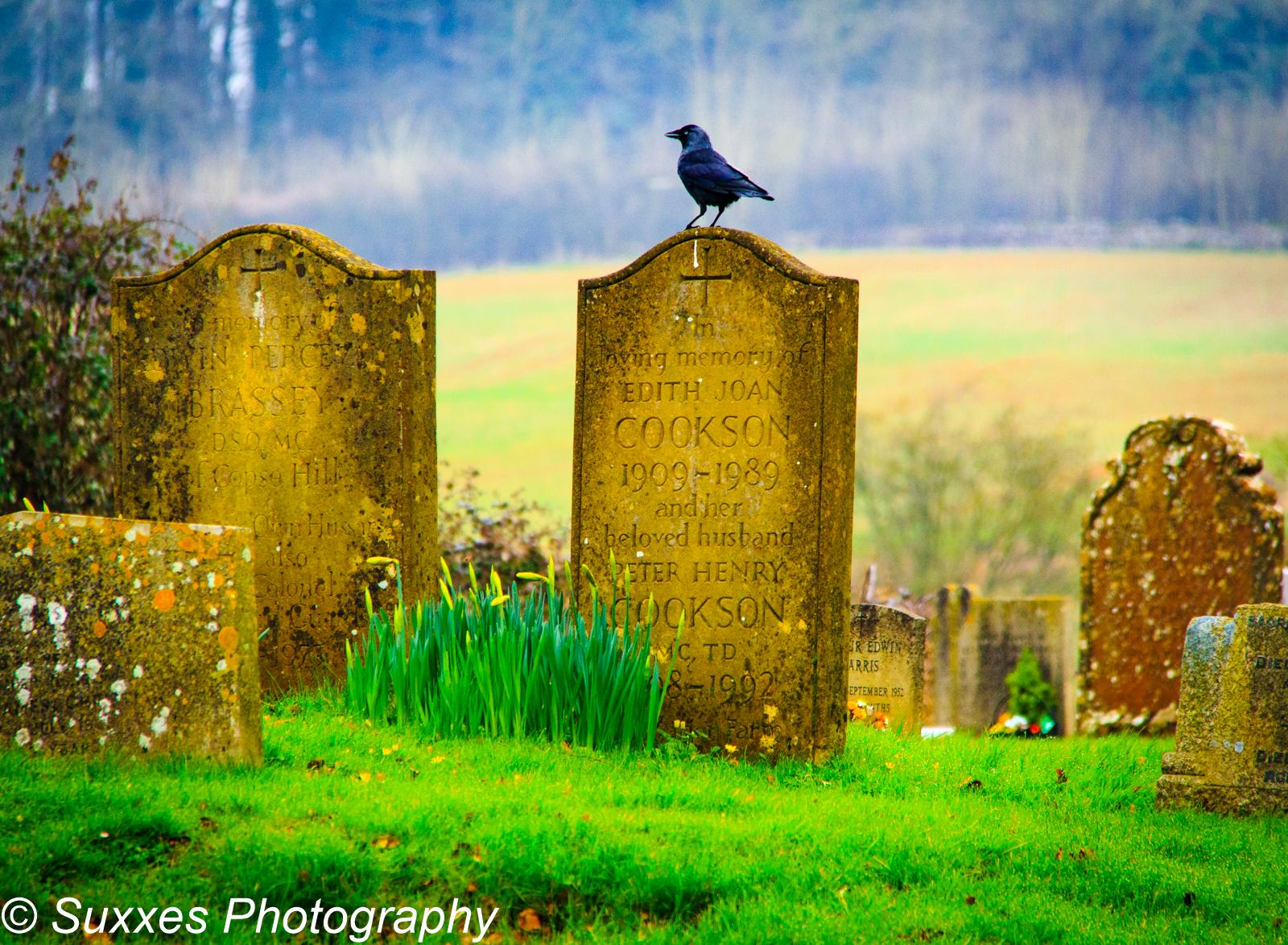 upper slaughter grave stone