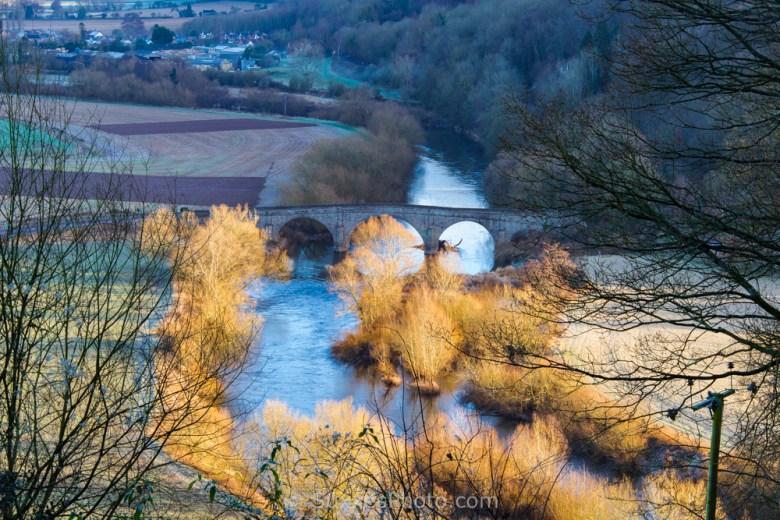 herne bridge river wye