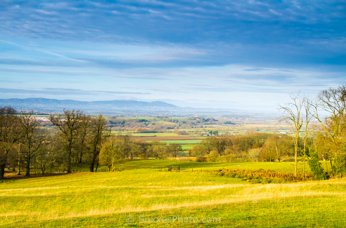 Bredon hill Worcestershire Malverns