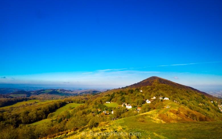 malvern hills worcestershire beacon