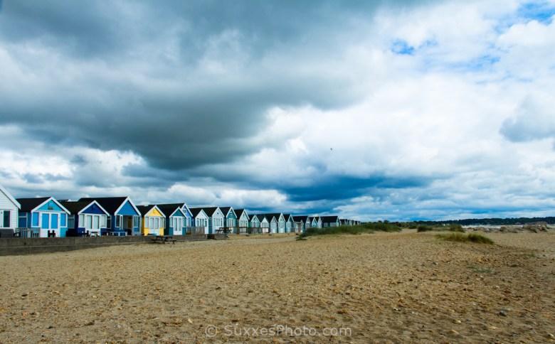 beach huts hengistbury