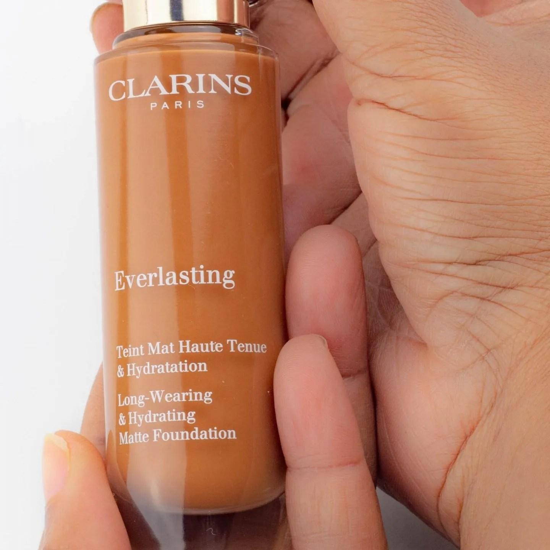 Clarins everlasting long-wearing foundation &  concealer