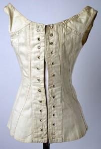 Back view, 1811 corset, Met Museum
