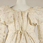Dress, 1810-15, French, cotton, The Met cropped