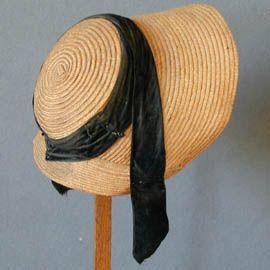 Cottage Bonnet ca 1810, Meg Andrews
