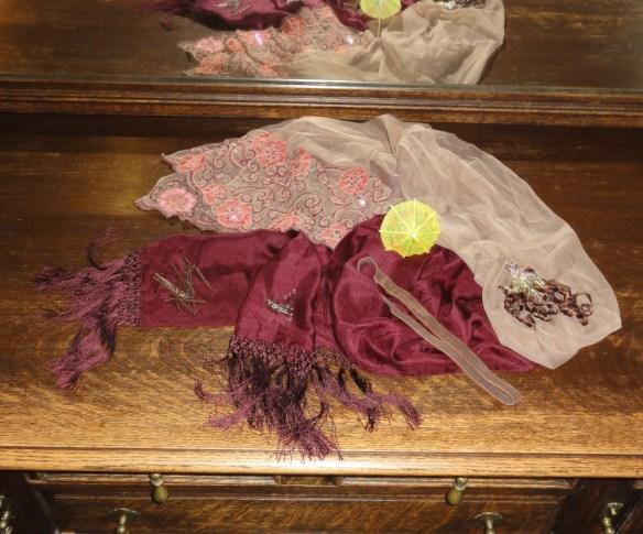 turban 2 raw materials incl pins, hairband, bobby pins