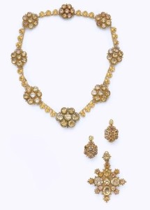 Citrine jewelry 1820