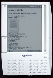 First Generation Amazon Kindle, 2007