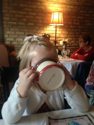Amelia and Hot Chocolate