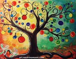 Acrylic Wishing Tree