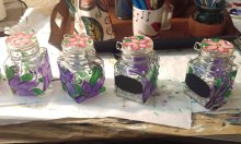 Easter Jars by Suzanna