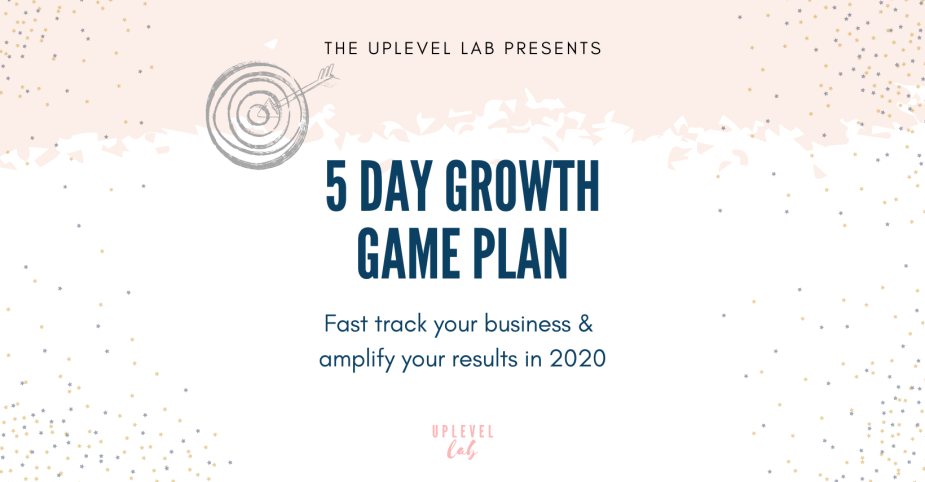 , Growth Game Plan – Day 3