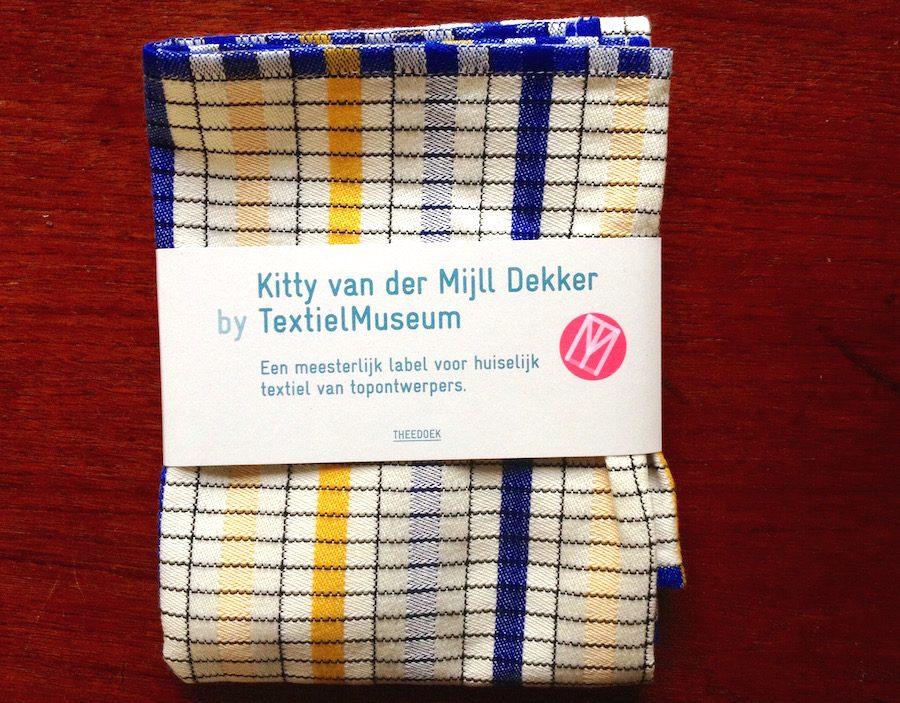 Theedoek van Kitty van der Mijll Dekker