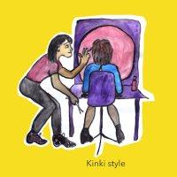 De kapster maakt een Kinki dansje á 50 euro