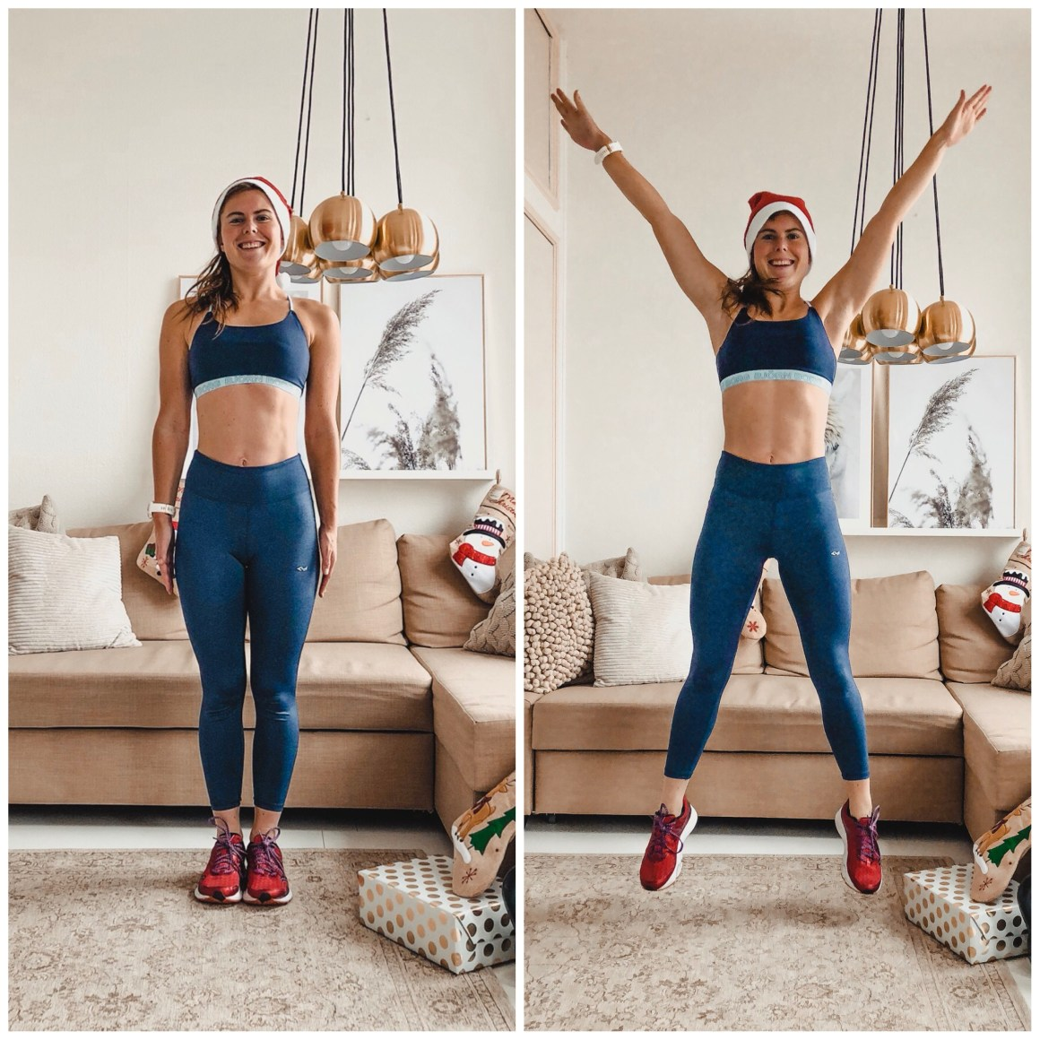 jumping jacks - workout voor thuis