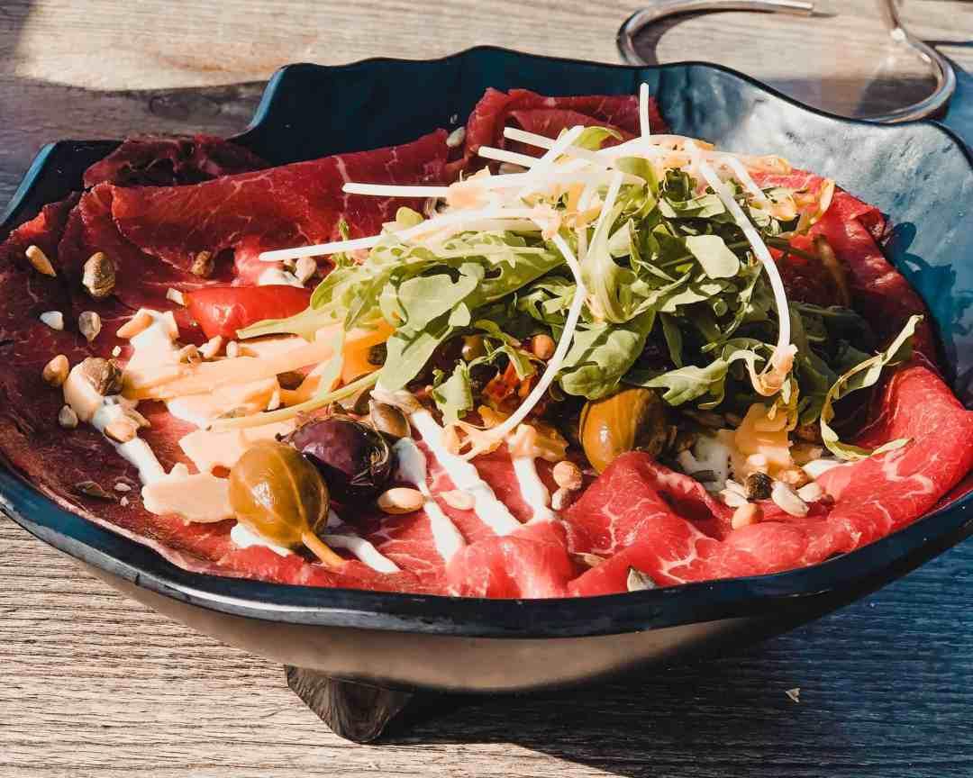 carpaccio salade