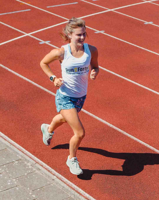 atletiekbaan training run2forty2