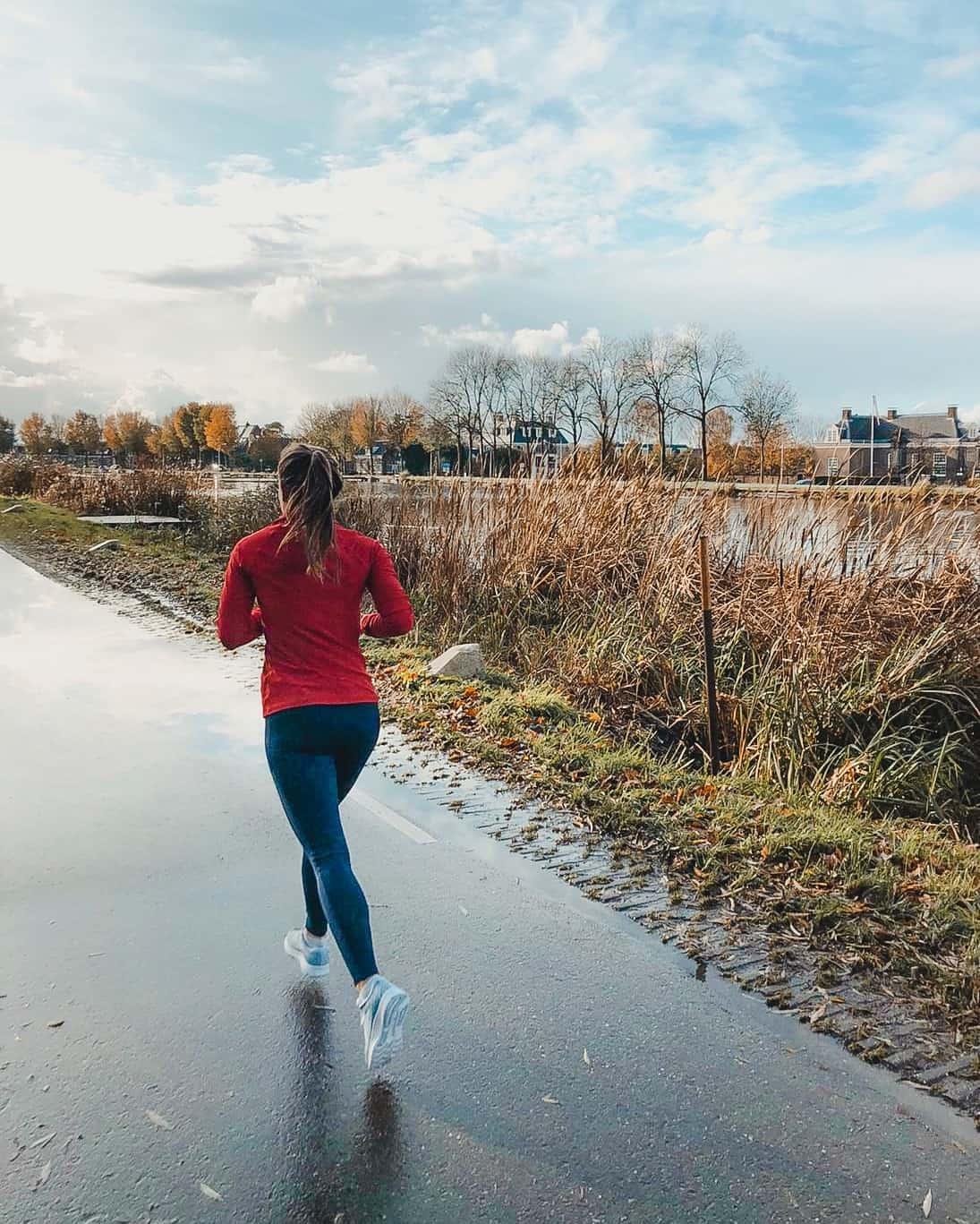 hardlopen langs de amstel amsterdam