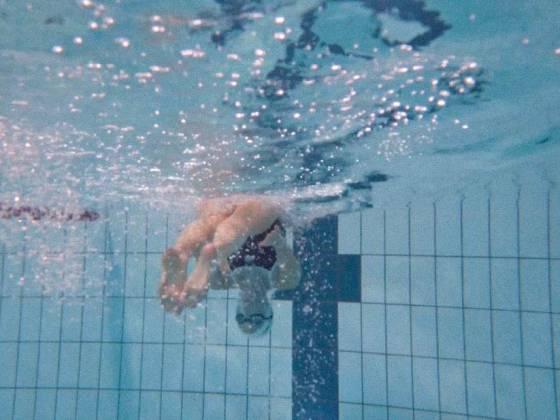 zwemmen keerpunt
