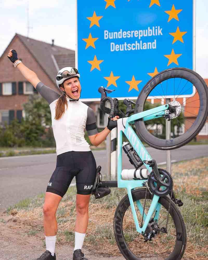 fietstocht naar duitsland