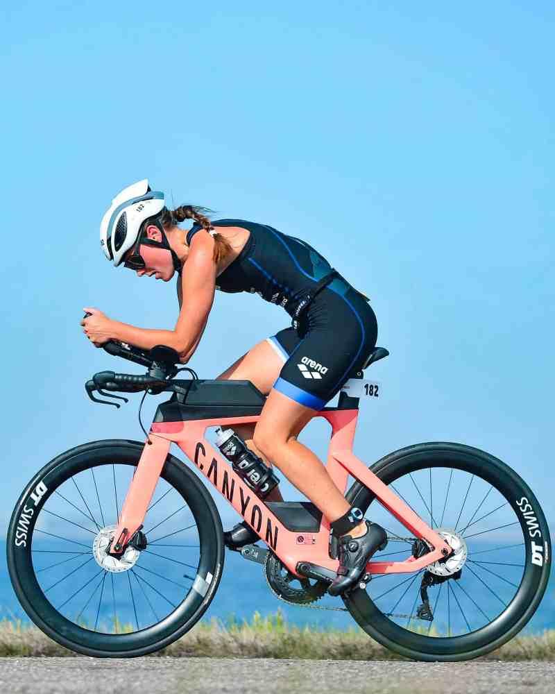 eerste triathlon