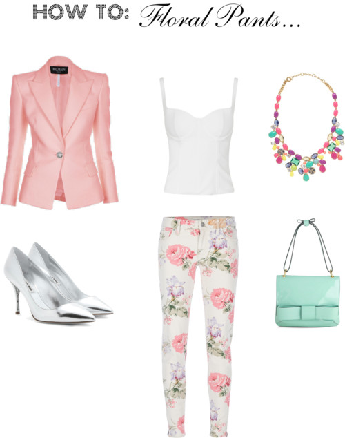 How To: Floral Pants