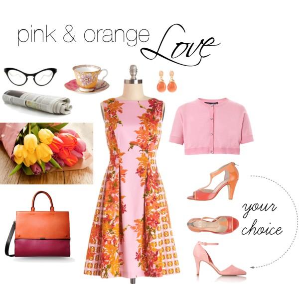 Pink and Orange Love