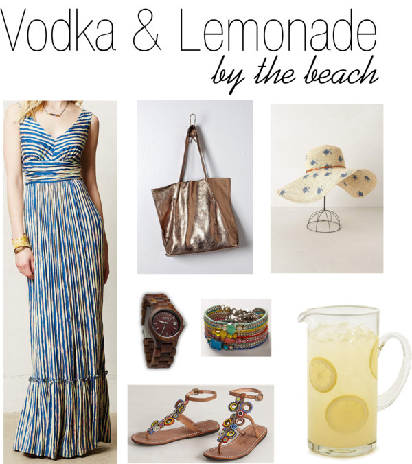 Vodka & Lemonade by the beach