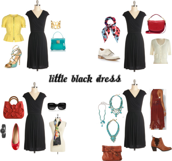 Style Your Little Black Dress