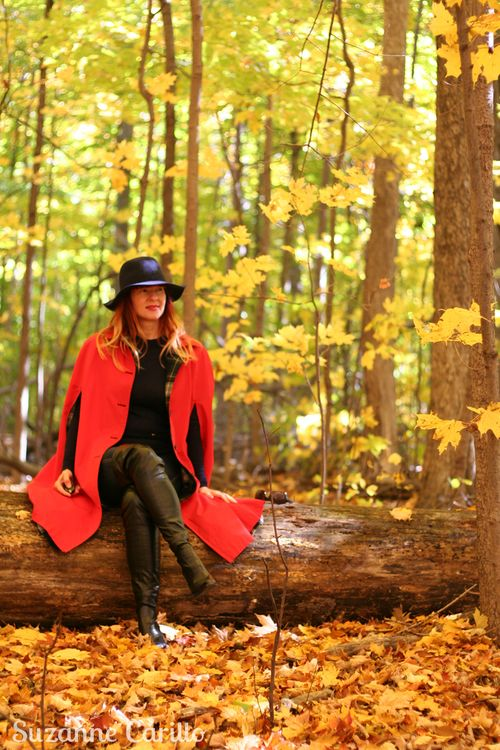 How to style a vintage cape suzanne carillo
