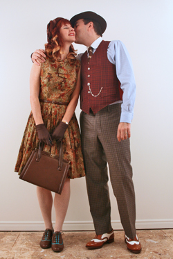 1940's vintage style for men and women