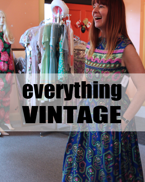Everything you wanted to know about shopping and buying vintage clothing