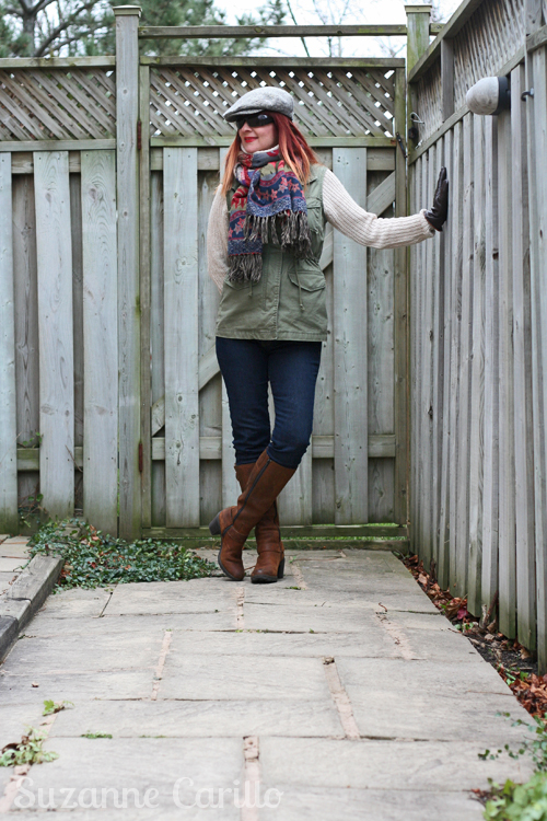 Winter layering done right