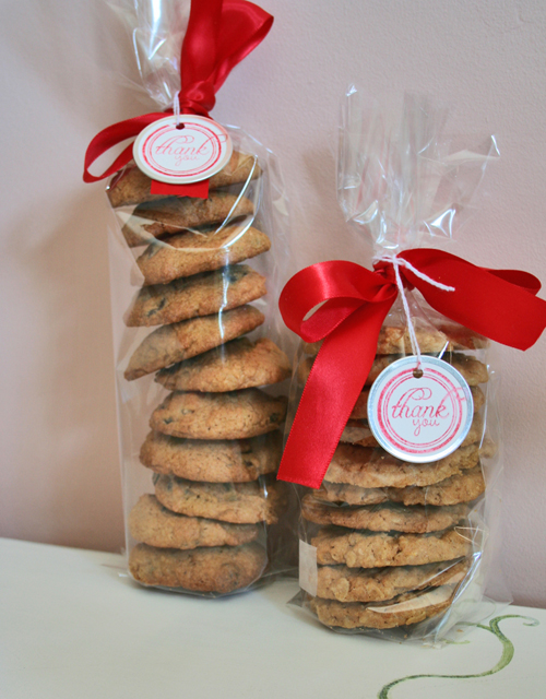 How to wrap homemade cookies as a gift