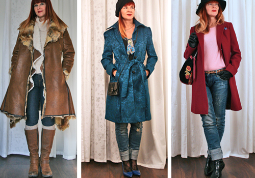 how to style a long coat suzanne carillo